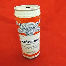Budweiser empty Beer can, 16 Oz - aluminum