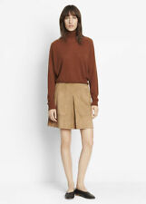 V927 NWT VINCE SUEDE LEATHER WOMEN MINI SKIRT SIZE 6 in TAN $595