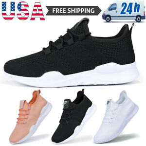 Women's Running Shoes Non-slip Comfortable Casual Walking Athletic Gym Sneakers