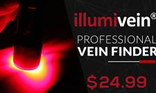 FLASH SALE Illumivein -- Vein Finder / Transilluminator to Find Veins