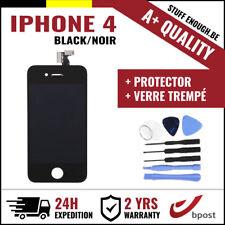 A+ LCD  TOUCH SCREEN/SCHERM/ÉCRAN BLACK NOIR & VERRE TREMPÉ + TOOLS FOR IPHONE 4