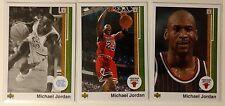 Rare Lot of 3: Michael Jordan, 2009 Upper Deck Legacy Gold 1989 Retro, Mint!