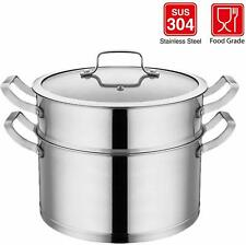 BOMA Steamer Stainless Steel Food Induction Steaming Pot 2 Tier Home Essential