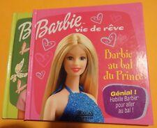 Lot de 2 livres Barbie Vie de Rêve
