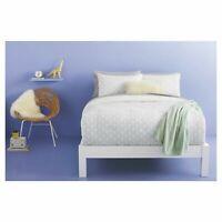 ROOM ESSENTIALS Scallop Print Comforter Set Green/White TWIN XL 4pc