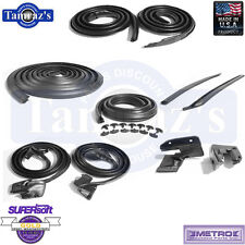 69-72 GTO LeMans Tempest Weatherstrip Seal Kit 10 Pieces 2 Door Hardtop W/O Post