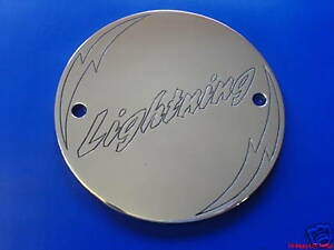 CNC ENGRAVED IGNITION TIMER COVER FOR BUELL LIGHTNING