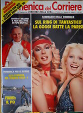Domenica del Corriere 43 1979 Film vita Papa Wojtyla. Goggi batte la Parisi C51