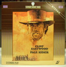 PALE RIDER Clint Eastwood Warner Brother Laserdisc