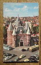 Carte postale Amsterdam, Het Waagebouw, poids public  ,CPSM