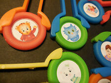 12 DANIEL TIGER'S NEIGHBORHOOD Disk SHooters~ birthday party favor treat, PBS