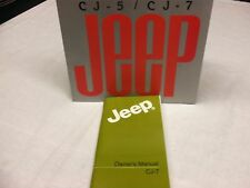 1986 Jeep CJ owner's manual