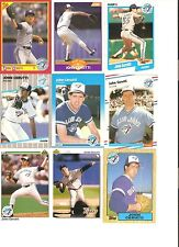 18 CARD JOHN CERUTTI BASEBALL CARD LOT !        20-21