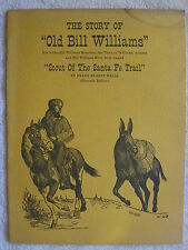 """1957 The Story Of """"Old Bill Williams"""" Booklet"""