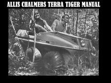 ALLIS CHALMERS TERRA TIGER SERVICE PARTS & WORKSHOP MANUALs 150pg for 6x6 Repair