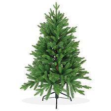 Künstlicher Weihnachtsbaum 120cm Nordmanntanne Spritzguss grüner Christbaum;PT05