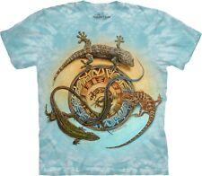 The Mountain Unisex Adult Mibre Journey Reptile T Shirt