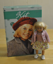 American Girl ~ Kit ~ 1934 ~ Mini Doll & Boxed Set of 6 books with game