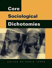 Core Sociological Dichotomies, Jenks, Chris, Used; Good Book