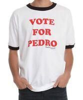 Adult Men's Napoleon Dynamite Comedy Movie Vote for Pedro White T-shirt Tee