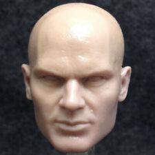 Blank Hot 1/6 Scale Shooting Game Hitman Code 47 Head Sculpt Unpainted