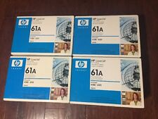 LOT OF 4! GENUINE HP C8061A TONER CARTRIDGE 61A Free Shipping.