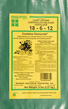 Southern Ag CONTROLLED RELEASE FERTILIZER 18-6-12, (5 LBS.)