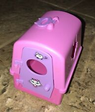 Barbie 2000 Kitty Fun Marshmallow Curly Kitten Cat Replacement Pet Carrier Cage