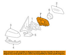 BMW OEM 12-15 650i Outside Mirrors-Front Door-Mount Ring Left 51167266029