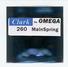 "260 Mainspring for Omega ""CLARK"" factory part number 260-1208"