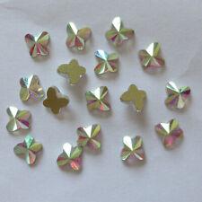 Arte en Uñas Pedrería AB Cristal Piedras Flatback STRASS Decoración formas de múltiples