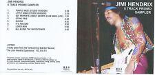 JIMI HENDRIX: CD SAMPLER 8 TRACK PROMO