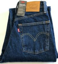 Levis Jeans Ribcage Straight Ankle W25 L27 72693-0002 Dark Indigo Dunkelblau