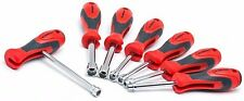Crescent SAE/Metric Quick Convert T-Handle Nut Driver Set 7 Piece Tool Material