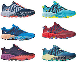 HOKA ONE ONE SPEEDGOAT 4 WOMEN'S SIZES 6-11 RUNNING SHOES NEW WITH TAGS