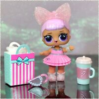 LOL Surprise Present June Pearl QT Q.T. Holiday Birthday Girl Baby Doll Gift Box