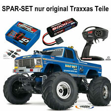 Traxxas # BIGFOOT No.1 RTR Monster 1-10+ 5000er Lipo Akku + Traxxas Lader + 12V