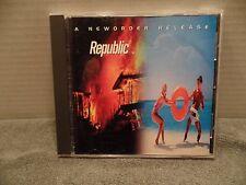 NEW ORDER Republic CD 1993 U.S. BMG Club Pressing Qwest NewOrder