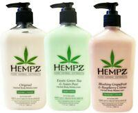 Hempz ORIGINAL+ GREEN TEA/ASIAN PEAR + BLUSHING GRAPEFRUIT lotion 17 oz