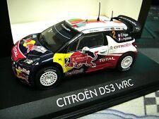 CITROEN DS3 WRC Rallye 2011 Portugal Ogier #2 Winner Sieger Red Bull Norev 1:43