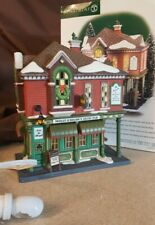 Dept 56 Christmas In The City Lighted 1999 Molly O'Brien'S Irish Pub 58952
