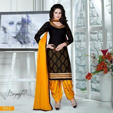 Indian Salwar Kameez Patiala Suit Punjabi Pakistani Shalwar Bollywood Designer