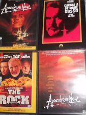 4 DVD S.Connery-Apocalypse now Apocalypese ReduxThe Rock Caccia a Ottobre dvv