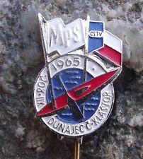 1965 International Canoe Kayak Whitewater Slalom Championship Slovakia Pin Badge