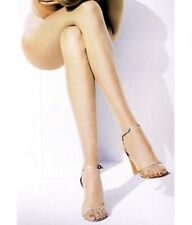 D Peavey Champagne Pantyhose Opentoe sheer Toeless Hooters Uniform lingerie sexy
