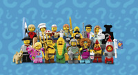 LEGO SERIES 16 and 17 MINIFIGURES ... CHOOSE YOUR FIGURE