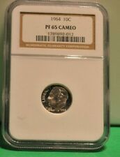 1964 NGC Proof Silver 10c PF65 Cameo