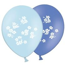 "Forget me not Love Theme - 12"" Printed Latex Balloons Asst 6 ct By Party Decor"