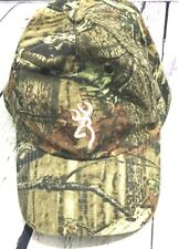 Browning Ball Cap Hat Womans Strapback Camouflage Pink Deer