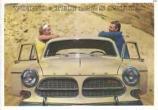 "VOLVO ""122 S"" Series - B18 D engine - 01/1964 - USA sales brochure, folder"